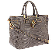 Dooney & Bourke Santorini Lizard Embossed Leather Shopper - A258245