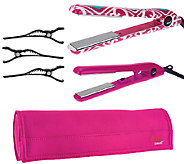 CHI Smart iKat Volumizing Styling Iron, Travel Iron and Pouch - A267945