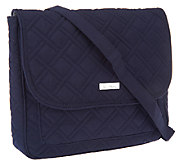 As Is Vera Bradley Microfiber Convertible Mailbag - A270745
