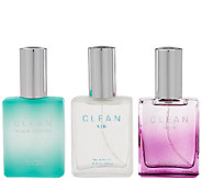 CLEAN Signature Scents Eau de Parfum Trio - A272945