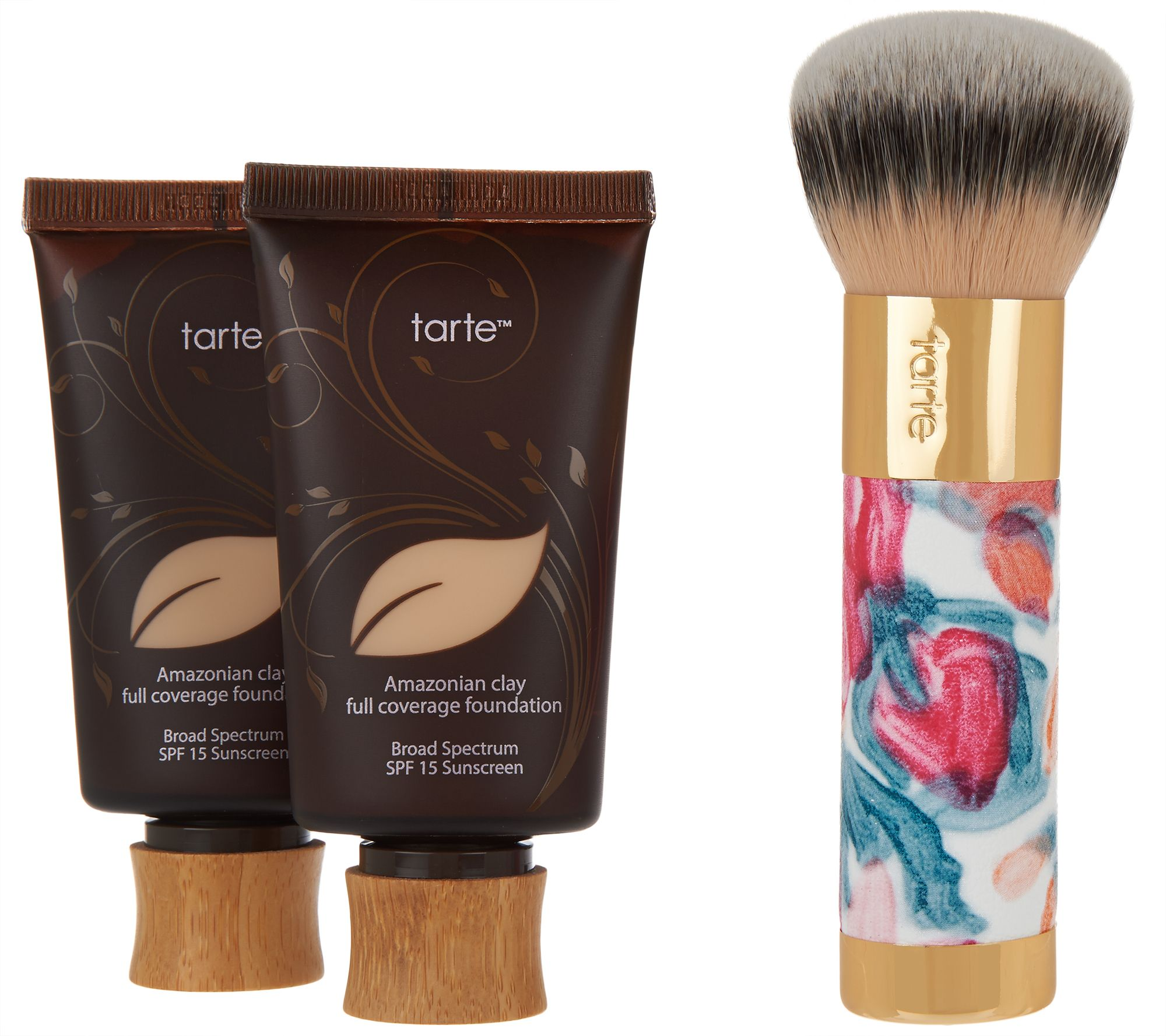 tarte Super-Size Amazonian Clay Foundation & Deco Brush