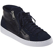 Vionic Orthotic Lace- Up High-Top Sneakers - Torri - A279945