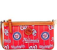 Dooney & Bourke MLB Nylon Nationals Large Slim Wristlet - A281645