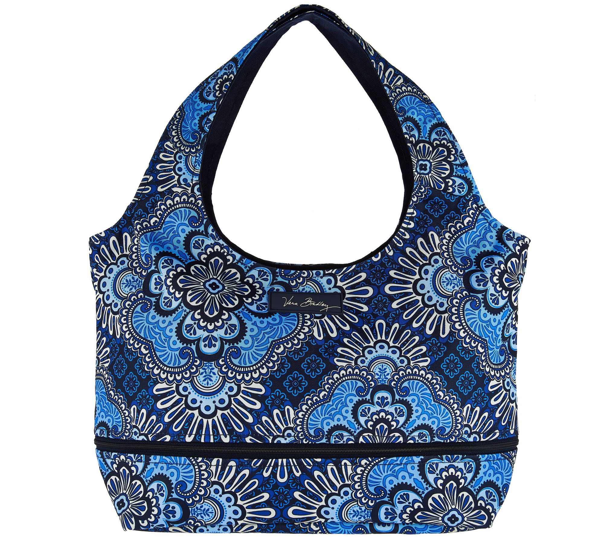 Vera Bradley Lighten Up Expandable Hobo Bag - Page 1 — QVC.com