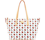 Dooney & Bourke NCAA University of Louisville Zip Top Shopper - A283245