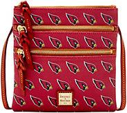 Dooney & Bourke NFL Cardinals Triple Zip Crossbody - A285645