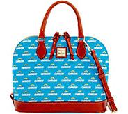 Dooney & Bourke NFL Chargers Zip Zip Satchel - A285745