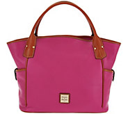 As Is Dooney & Bourke Pebbled Leather Kristen Tote Bag - A287945