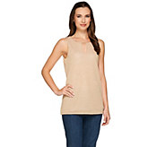 As Is Kelly by Clinton Kelly Layered Tank with Beaded Detail - A289945
