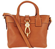 Dooney & Bourke Florentine Leather Small Tote Handbag- Amelia - A296345