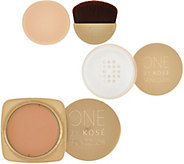 ONE by KOSE Water-Luxe Gel Creme Foundation & Cool Powder Duo - A297545