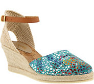 Azura by Spring Step Leather Espadrilles - Kaitlin - A363245