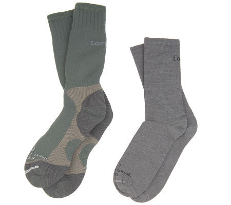 Lorpen 2-Pair Cold Weather Wool Sock Layering System
