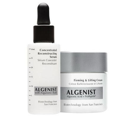 Algenist Concentrated Serum and Firming Cream Duo