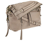 Joelle Hawkens by Treesje Leather Foldover Victory Satchel - A264446