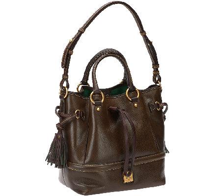 Dooney amp bourke toledo leather buckley bag