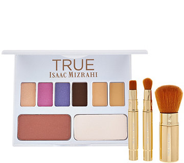 TRUE Isaac Mizrahi Perfect Face Palette with Brushes - A274446