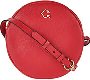C. Wonder Round Canteen Leather Crossbody Handbag - A278246