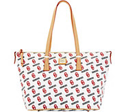 Dooney & Bourke NCAA University of Oklahoma Zip Top Shopper - A283246