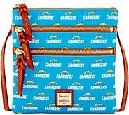 Dooney & Bourke NFL Chargers Triple Zip Crossbody - A285646