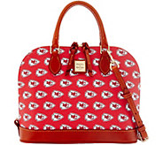 Dooney & Bourke NFL Chiefs Zip Zip Satchel - A285746