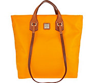 As Is Dooney & Bourke Windham Nylon North/South Leighton Tote - A287946