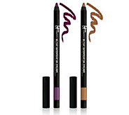 IT Cosmetics No-Tug Gel Waterproof Eyeliner Duo Auto-Delivery - A288546
