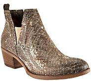 Miz Mooz Leather Ankle Booties with Goring - Dalia - A289346