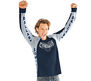NFL Dallas Mens Hands High Long Sleeve Top by Jimmy Fallon - A296446