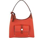 As Is Dooney & Bourke Pebble Leather Cambridge Hobo - A297746
