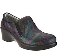 Alegria Leather Slip-on Shoes with Goring - Eryn - A298146