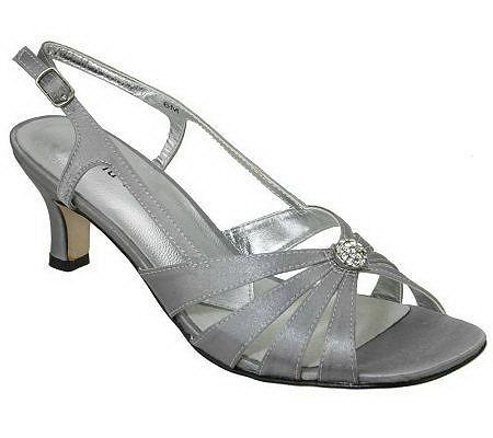 David Tate Rosette Evening Shoes