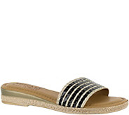 Tuscany by Easy Street Slide Sandals - Vanna - A356946