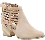 Sole Society Side Cage Booties - Ash - A357846