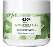 H2O  Beauty Eucalyptus & Aloe Body Scrub, 12 oz - A360446