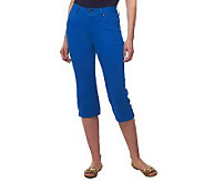Women with Control My WonderJean Contour Waist Capri Pants - A222247