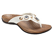 Vionic Orthotic Embellished Thong Sandals - Eve - A239847