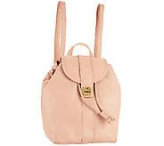 Isaac Mizrahi Live! Bridgehampton Leather Backpack - A262947