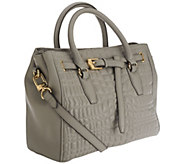 Aimee Kestenberg Dani Quilted Leather Satchel - A266047