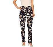 Isaac Mizrahi Live! Regular 24/7 Stretch Straight Leg Pants - A266247