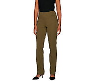 Liz Claiborne New York Jackie Bi-Stretch Pull-on Pants - A267347