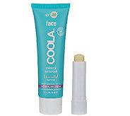 COOLA Matte Tint SPF30 Mineral BB Cream & Liplux SPF30 - A268047