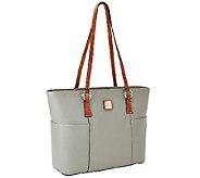 As Is Dooney & Bourke Pebble Leather Helena Shopper - A271347
