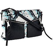 As Is Aimee Kestenberg Pebble Leather Crossbody - Lindy - A274347