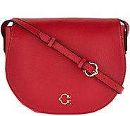 C. Wonder Pebble Leather Saddle Crossbody Handbag - A278247