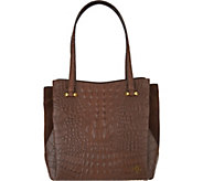 orYANY Embossed Leather Shoulder Bag -Alyssa - A295147