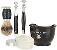 Van Der Hagen 5-piece Shave Set with Soap - A307347