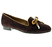 Azura by Spring Step Suede Leather Loafers -Centerpiece - A330247