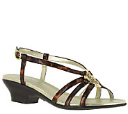Easy Street Strappy Sandals - Tripoly - A335647