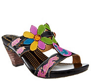 Spring Step LArtiste Leather Slide Sandals - Medellin - A336047
